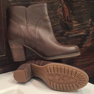 Timberland Rudstone Brown Leather Ankle Boots 6.5